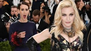 Sarah Paulson na Madonna