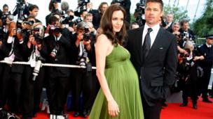 Angelina Jolie na Brad Pitt