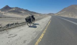 رحلتي من بريطانيا إلى إيران بالدراجة