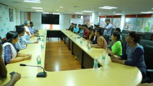 training room for metro employees