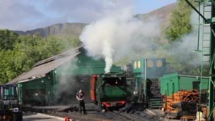 Snowdon Mountain Railway in Llanberis