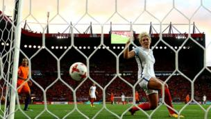 Millie Bright of England
