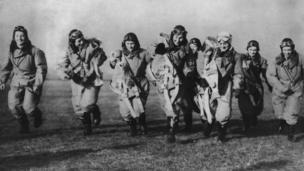 женщины-пилоты