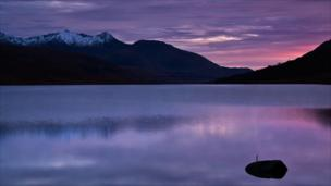 Glen Etive sunset