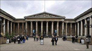 British Museum in Bloomsbury, London
