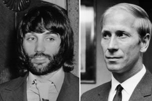 George Best and Bobby Charlton