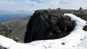 People at the summit of Ben Nevis