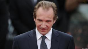 Ralph Fiennes who plays Voldermort