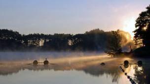 Mist over Lanark Loch