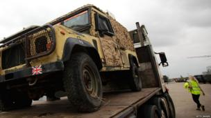 Ex Ministry of Defence vehicles are going on sale.
