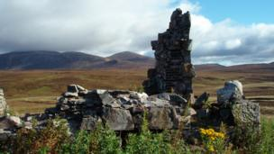 Ruins of Geldie Lodge
