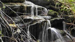 Waterfall at the Birks of Aberfeldy