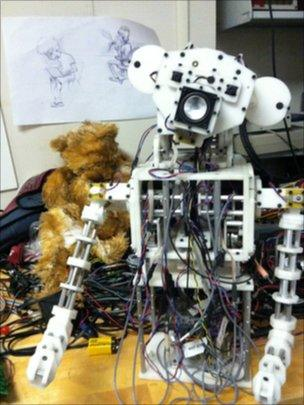 Robot prototype, University of Southern California