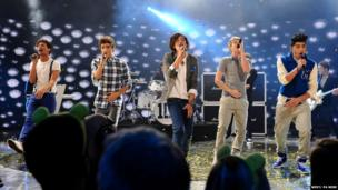 One Direction perform at Children in Need