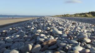 Pebbles on the beach at Findhorn