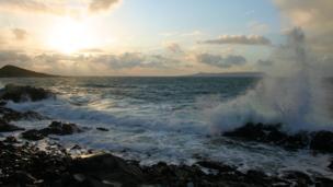 Waves off Mallaig