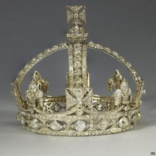 Queen Victoria's small diamond crown