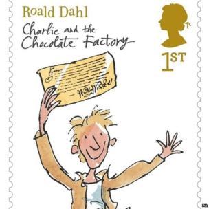 The new range of Roald Dahl stamps