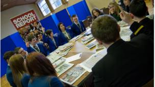 There was some impressive teamwork on display as students from St Killian's College, Slemish College, Magherafelt High School & Coleraine High School all came together for Practice News Day on Feb 8