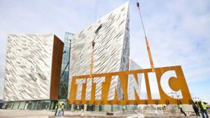 Titanic Belfast from the outside