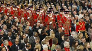 Beefeaters arriving