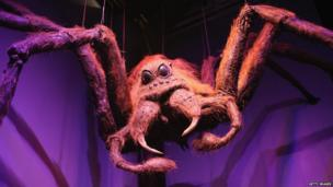 Aragog the spider from Harry Potter and the Chamber of Secrets