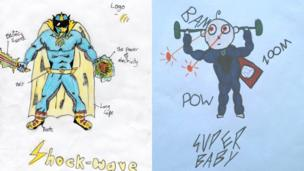 Shock-wave and Super baby
