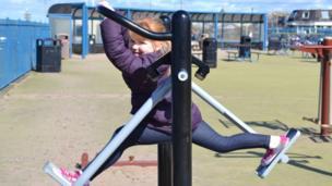 Hannah at Ayr Beach Park