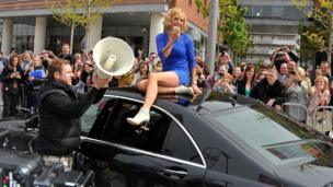 The X Factor auditions in Liverpool - Geri Halliwell
