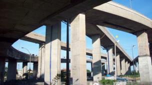 Turcotte interchange, Montreal, Canada