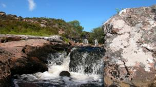 Acheninver waterfall