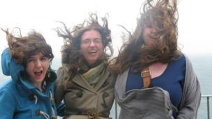 Lucy, Joanna and Paula