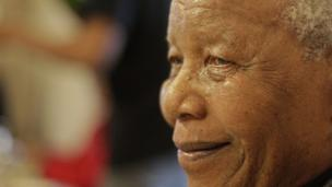 Nelson Mandela celebrating his 94th birthday