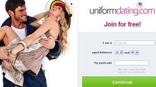 uniform dating website uk