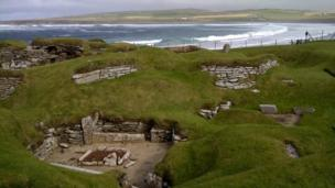 Fiona Kelly from Edinburgh sent in this shot of Scara Brae on Orkney.