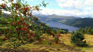 A beautifully clear Loch Tay and Ben Lawers, shot from Kenmore hill by Harris Keillar from Edinburgh.