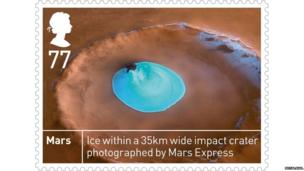 Stamp of Mars