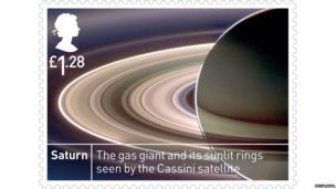 Stamp of Saturn