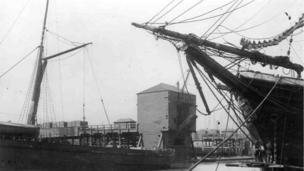 Doc yng Nghaerdydd, 1844