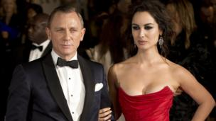 Daniel Craig and French actress Berenice Marlohe