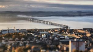 View from Dundee Law