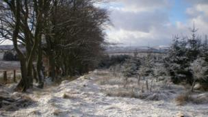 Snow on the Southern Upland Way