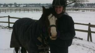 Katie and her pony Bailee Boo