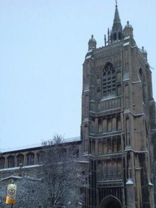 St Peter Mancroft Church, Norwich