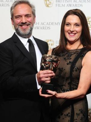 Sam Mendes and Barbara Brocoli