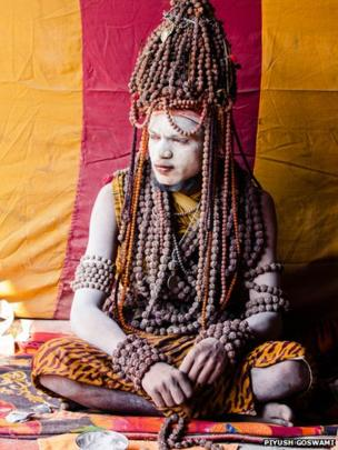 A Sadhu man. Photo: Piyush Goswami