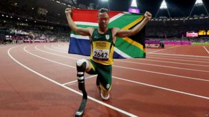 Oscar Pistorius, Sept 2012