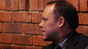 Hilton Botha in court in Pretoria, 21 February 2013