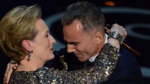 Meryl Streep and Daniel Day Lewis