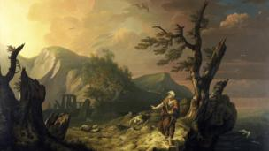 The Bard Thomas Jones 1774